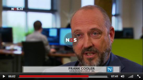 Verzekeruzelf.nl bij Nieuwsuur Frank Cooler